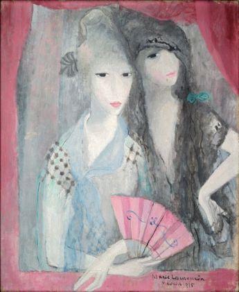 Marie Laurencin, Les deux Espagnoles, 1915 © Adagp, Paris 2012