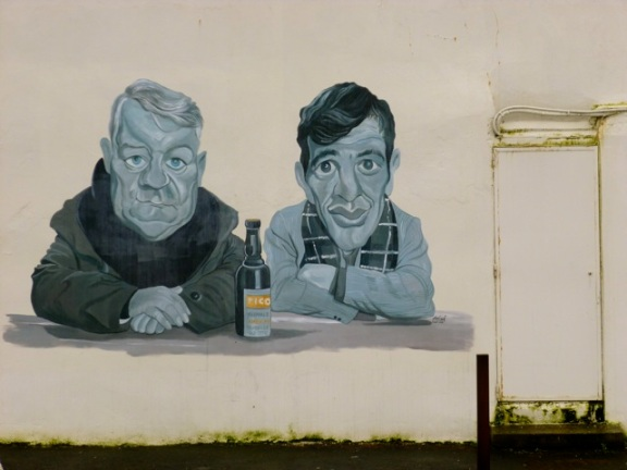 Street art near Trouville © GEGA, August 2012