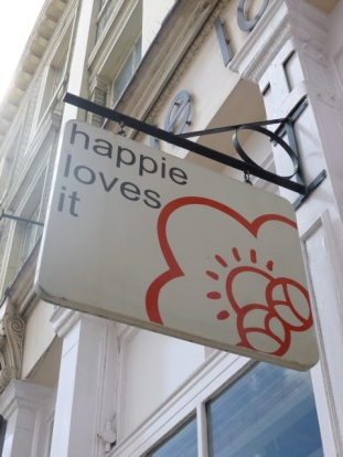 Happie loves it London