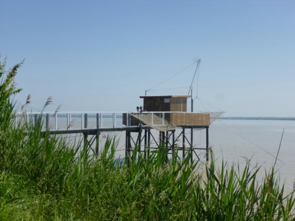 Cabane on the estuary