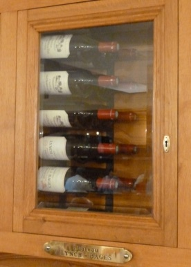 Lynch-Bages wine cabinet