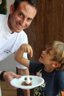 Chef Jean-Baptiste Rivière pense aux petits